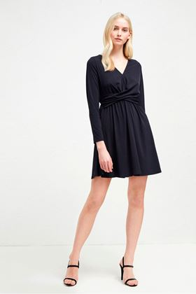 Picture of French Connection Alexia Crepe Jersey Dress