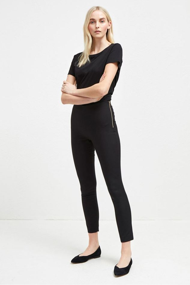 Picture of French Connection Glass Stretch Skinny Trousers
