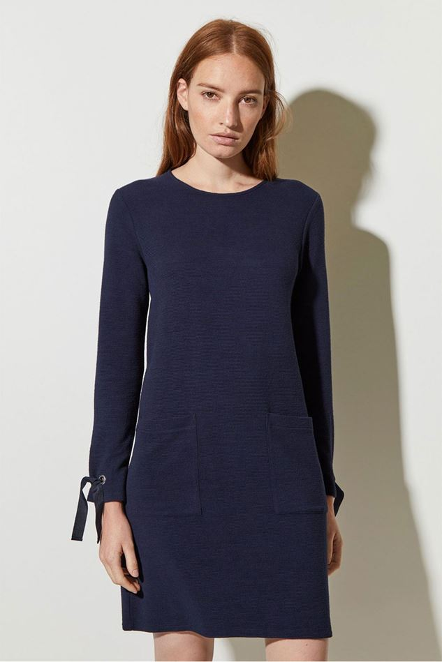 Picture of Great Plains Ottoman Jersey Round Neck Dress