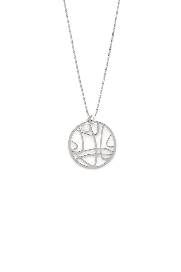 Picture of Pilgrim Zora Silver Plated Necklace