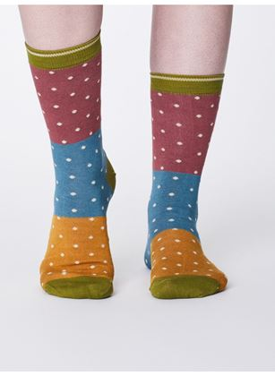 Picture of Thought Natacha Bamboo Colour Block Socks