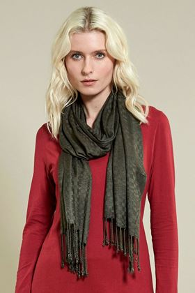 Picture of Nomads Fringe Viscose Scarf
