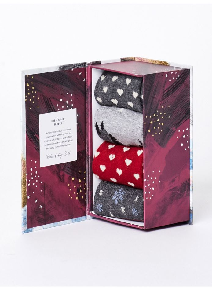 Picture of Thought Christmas Night Socks Gift Box