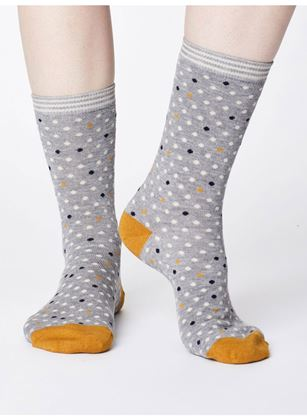 Picture of Thought Niven Spot Bamboo Socks