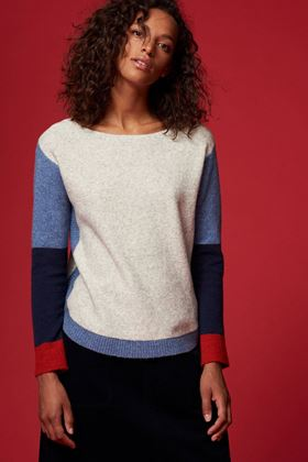 Picture of White Stuff Edo Colourblock Jumper