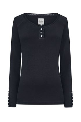 Picture of MISTRAL Henley Long Sleeve Tee