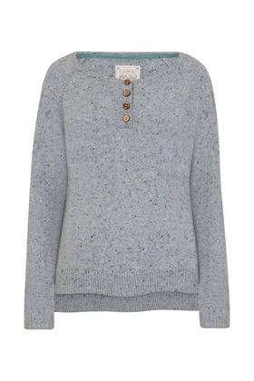 Picture of Mistral Mable Cable Fleck Jumper