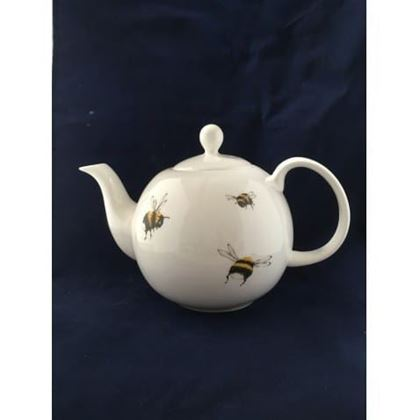 Picture of Elspeth Gardner Bumble Bee 4 Cup Teapot