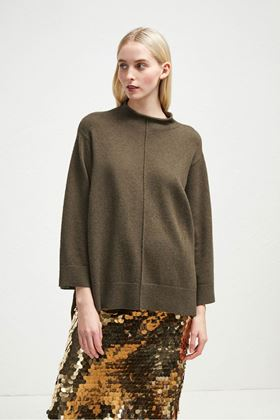 Picture of French Connection Ebba Vhairi Mock Neck Jumper