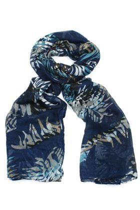 Picture of Poppy Leaf Printed Scarf