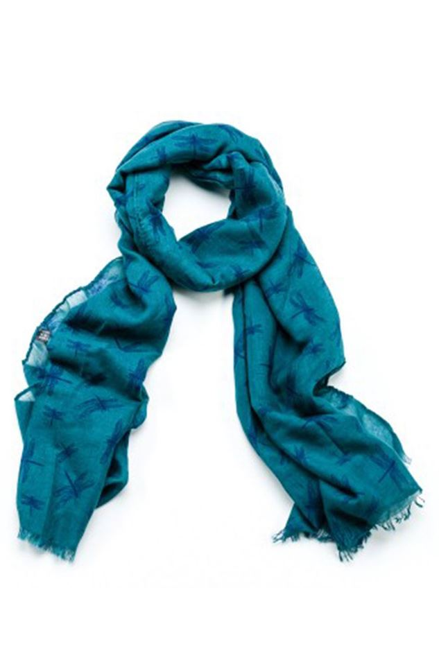 Picture of F&J Collection Vanessa Dragonfly Scarf