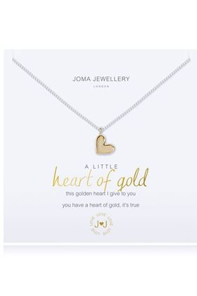 Picture of Joma Jewellery a little Heart of Gold Necklace