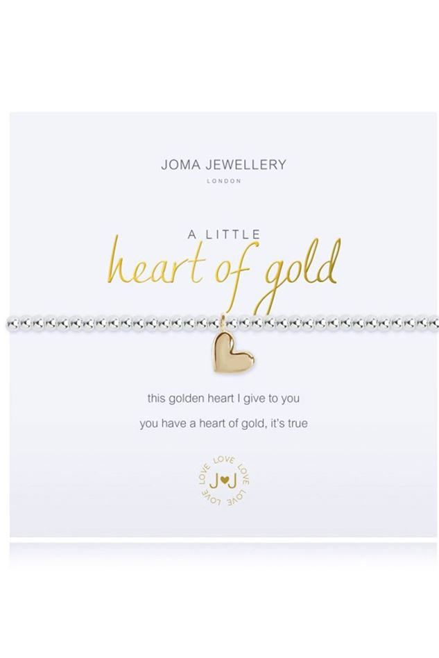 Picture of Joma Jewellery a little Heart of Gold Bracelet