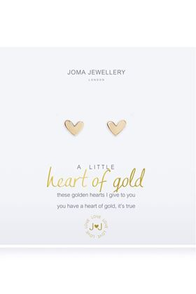 Picture of Joma Jewellery a little Heart of Gold Earrings