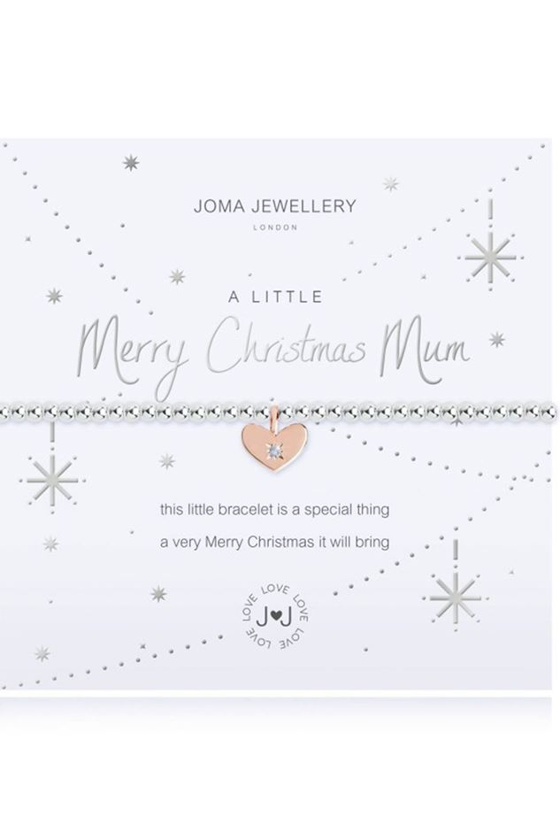 Picture of Joma Jewellery a little Merry Christmas Mum Bracelet
