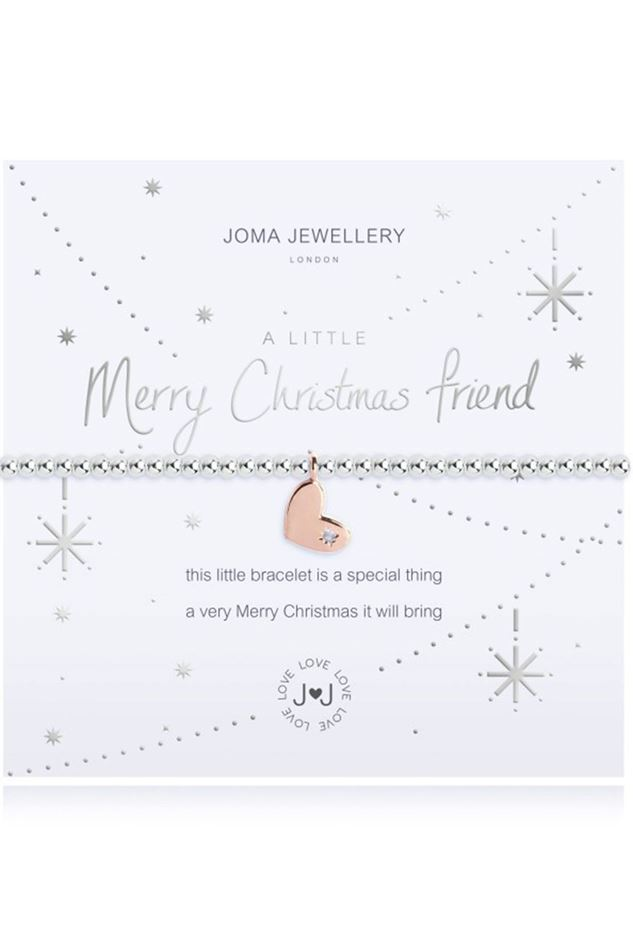 Picture of Joma Jewellery a little Merry Christmas Friend bracelet