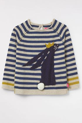 Picture of White Stuff Kids Stripe Bunny Jumper