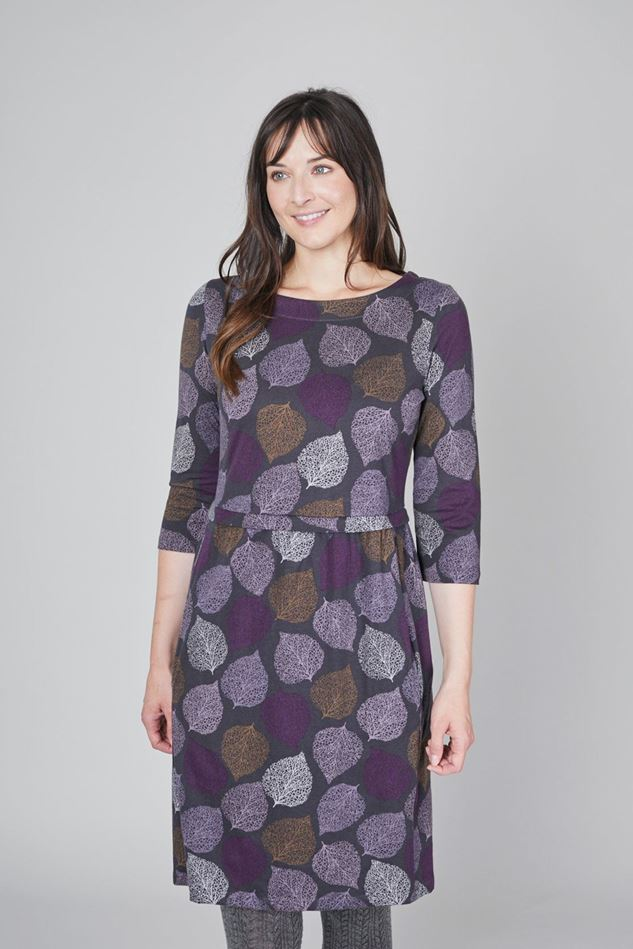 Picture of Lily & Me Frosted Leaf Keep It Simple Dress
