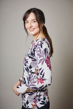 Picture of Lily & Me Ornate Floral Oaksey Occasion Jumper