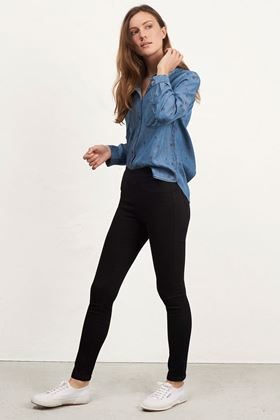 Picture of White Stuff  Black Hazel Jegging Jean