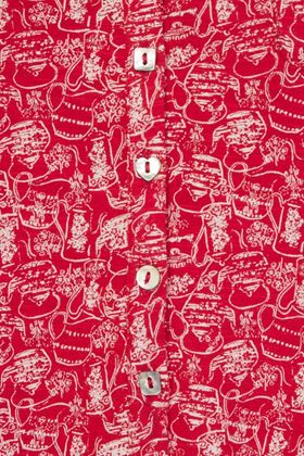 Picture of Mistral Kettle Print Shirt