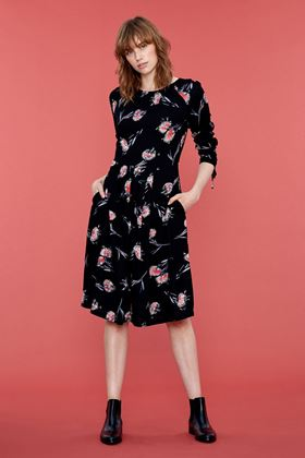 Picture of Emily and Fin Stephy Pom Pom Floral Dress
