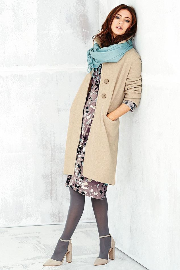 Picture of Adini Ferrara Wool Knit Claudia Coat
