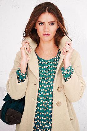 Picture of Adini Ferrara Wool Knit Claudia Coat