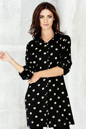 Picture of Adini Solar Spot Print Tina Shirt Tunic