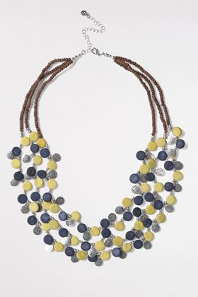 Picture of White Stuff Metal & Bead Mono Necklace