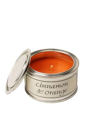 Picture of Pintail Cinnamon and Orange Paint Pot Candle