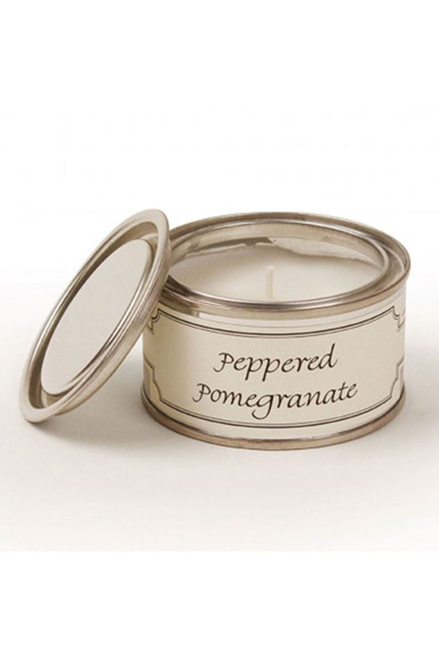 Picture of Pintail Peppered Pomegranate Paint Pot Candle