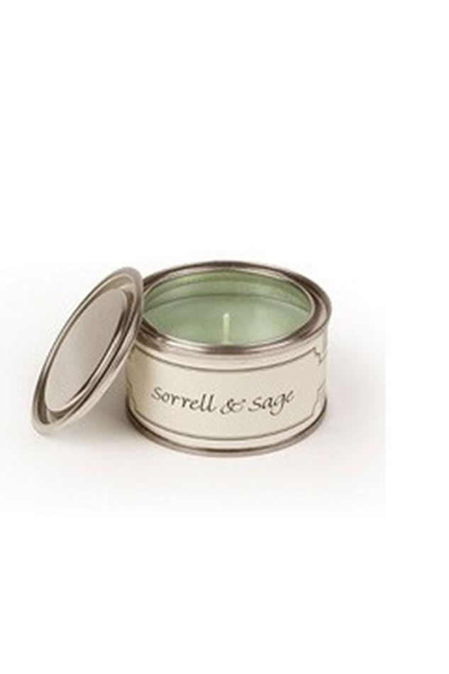 Picture of Pintail Sorrell and Sage Paint Pot Candle