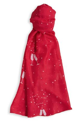 Picture of Katie Loxton 'Pop Fizz Clink' Sentiment Scarf