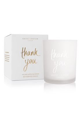 Picture of Katie Loxton 'Thank You' Candle