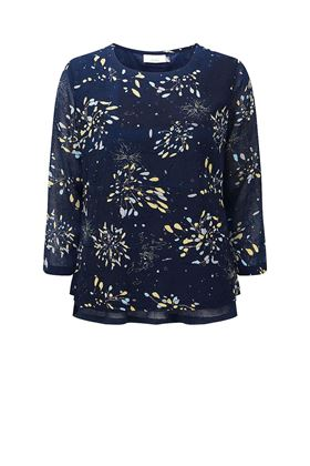 Picture of Adini Dawn Blouse Twilight Print