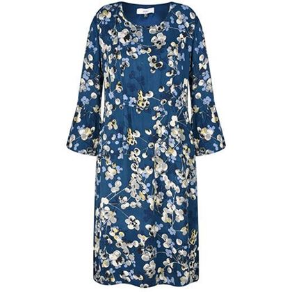 Picture of Adini Penny Dress Inky Berries Print