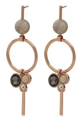Picture of Pilgrim Rose Gold Plated Drop Earrings