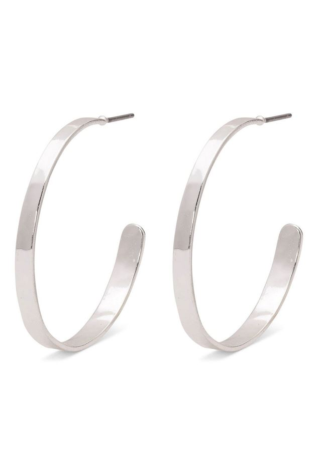 Picture of Pilgrim Belle Silver Plated Hoop Earrings