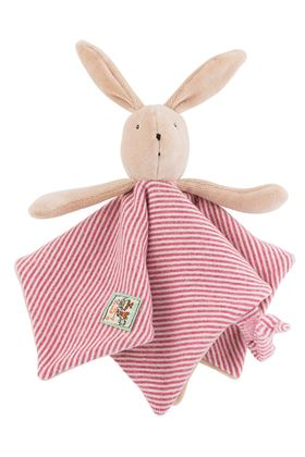 Picture of Moulin Roty La Grande Famille - Sylvain the Rabbit Comforter