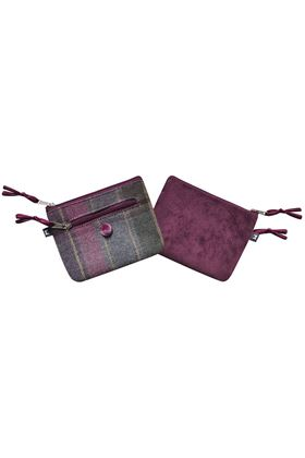 Picture of Earth Squared Heather Tweed Emily Purse