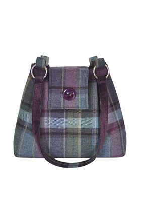 Picture of Earthsquared Heather Tweed Ava Bag