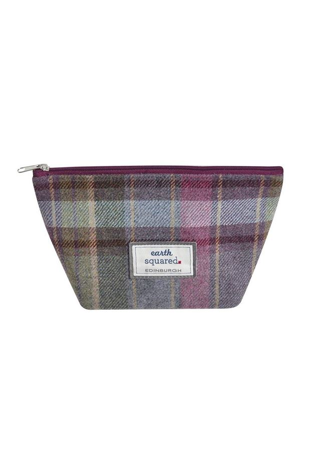 Picture of Earth Squared Heather Tweed Make Up Bag