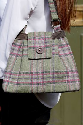 Picture of Earth Squared Moorland Tweed Ava Bag