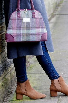 Picture of Earth Squared Heather Tweed Phoebe Bag