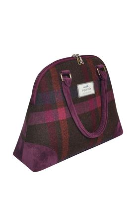 Picture of Earth Squared Mulberry Tweed Phoebe Bag