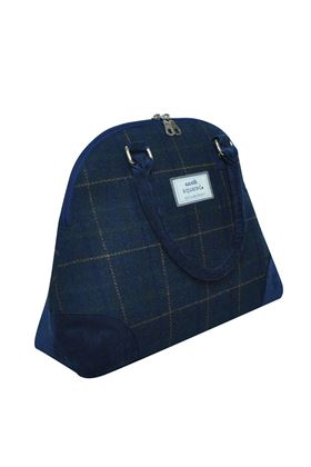 Picture of Earth Squared Navy Tweed Phoebe Bag