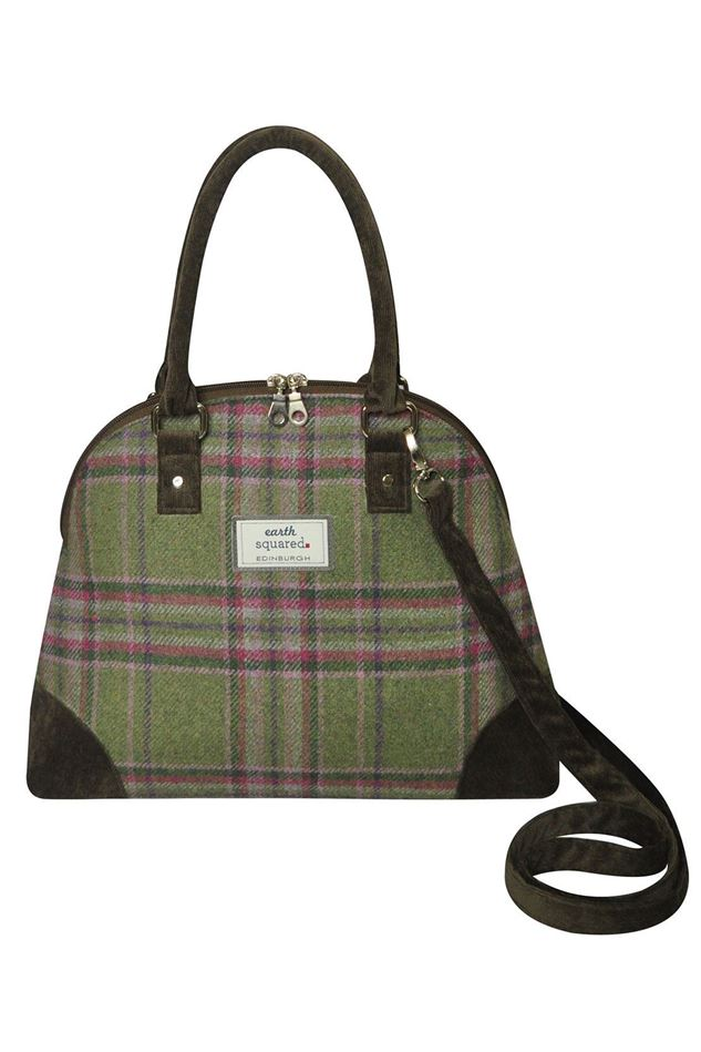 Picture of Earth Squared Moorland Tweed Phoebe Bag