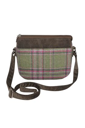 Picture of Earth Squared Moorland Tweed Messenger Bag