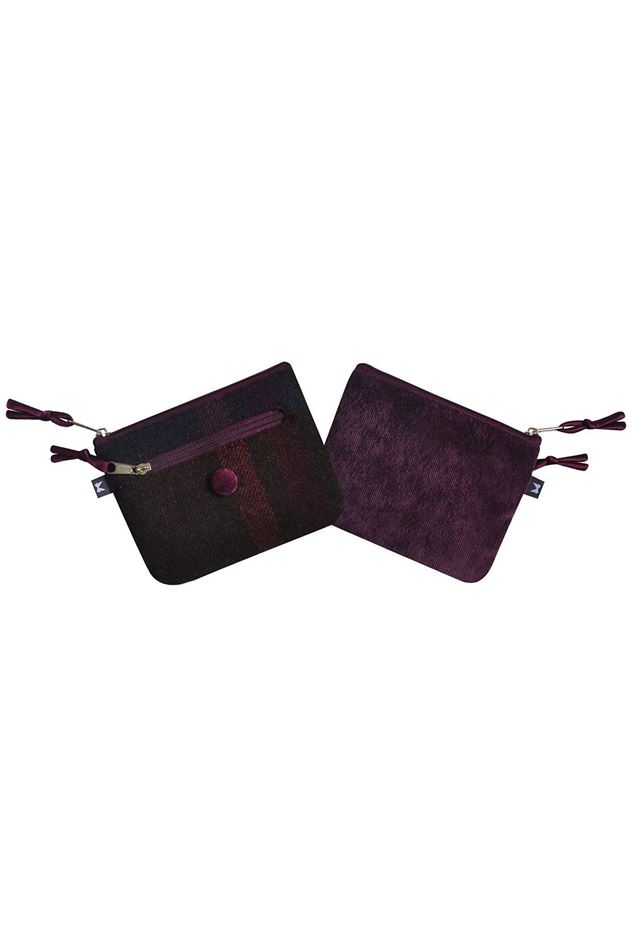 Picture of Earth Squared Mulberry Tweed Emily Purse
